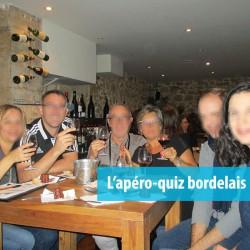 """Soirée séminaire Bordeaux : l'apéro-Quiz """"questions pour un Bordelais"""" !"""