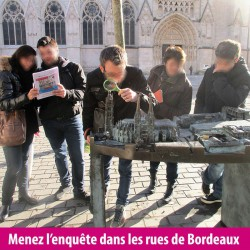 Team building : jeu de piste - enquête à Bordeaux