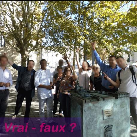 """Visite ludique """"vrai-faux"""" pour séminaire à Bordeaux"""