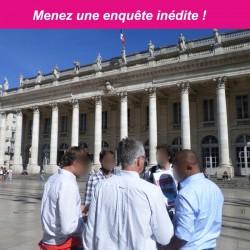 Jeu de piste pour séminaire à Bordeaux